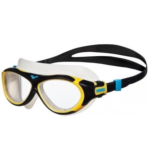 bb427bb6c ARENA svømmebriller model Oblo Maske Junior (yellow/black)